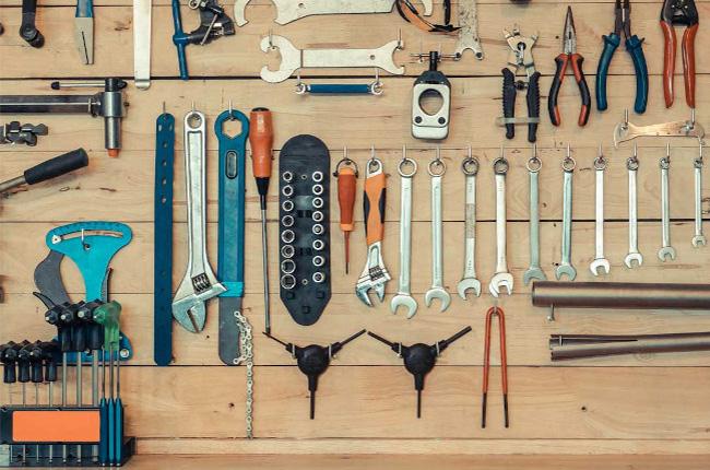Motorcycle Garage Tools