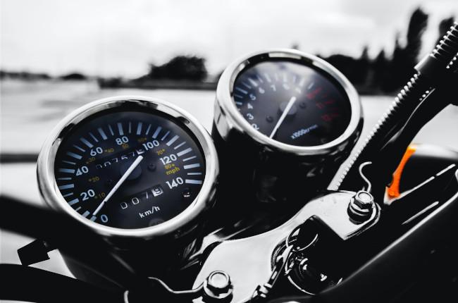 Motorcycle Gauge Cluster