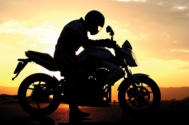 Motorcycle heightened emotional state