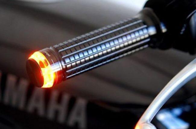 Motorcycle LED turn signal