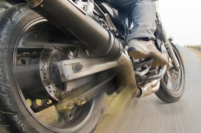 Motorcycle rear brake