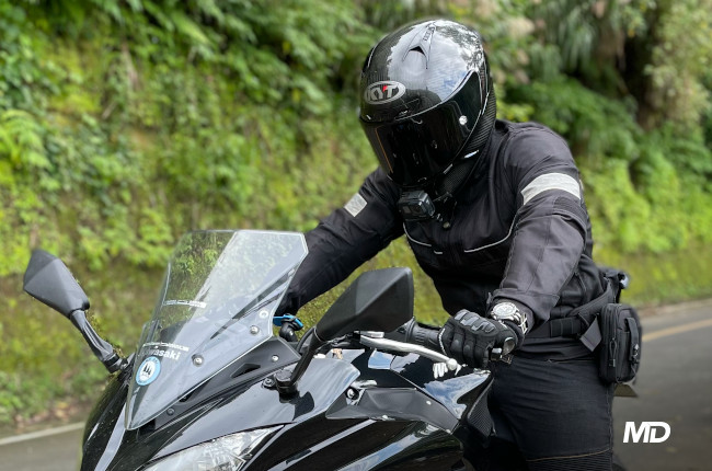 Motorcycle Rider Photo