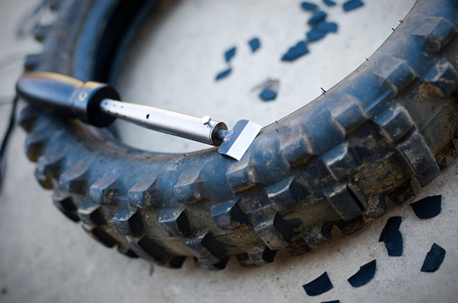 motorcycle tire cutter