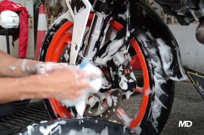 Motoshed x Motostrada Bike wash
