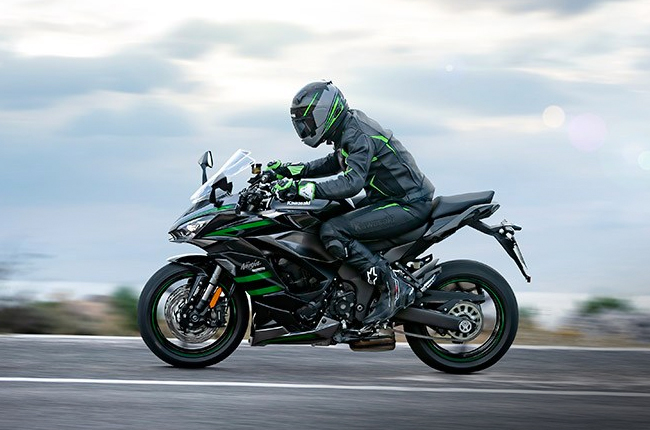 Ninja 1000SX Speeding