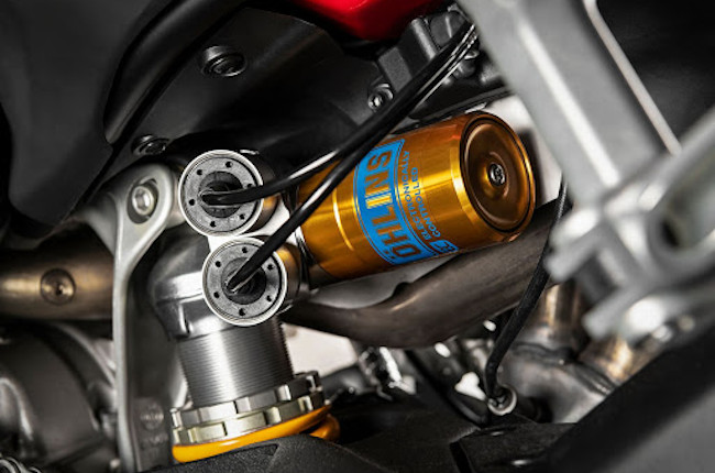 Ohlins motorcycle suspension