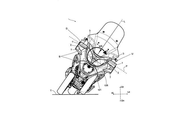 Piaggio Group Active Aero Patent
