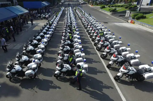 PNP-HPG Motorcycle Fleet