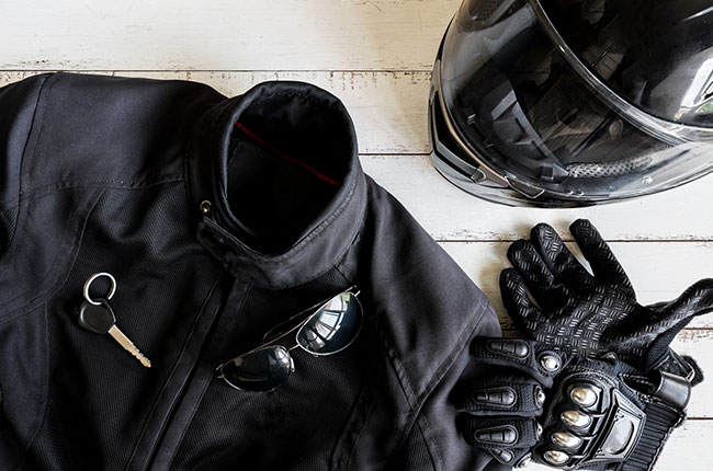 Prepare Motorcycle Gear Before a Ride