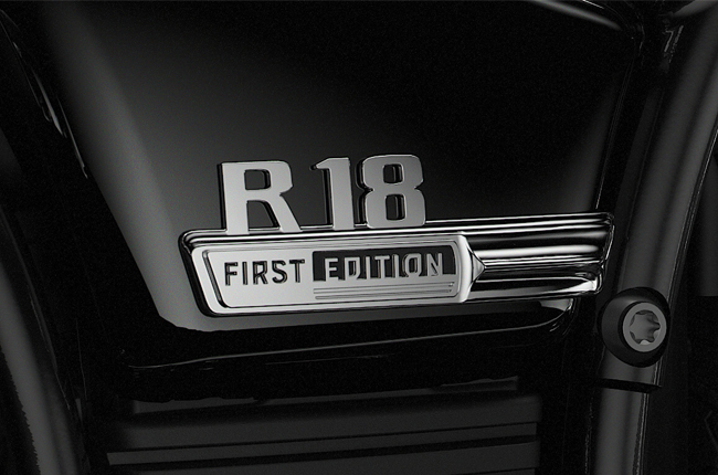 R18 First Edition Badge