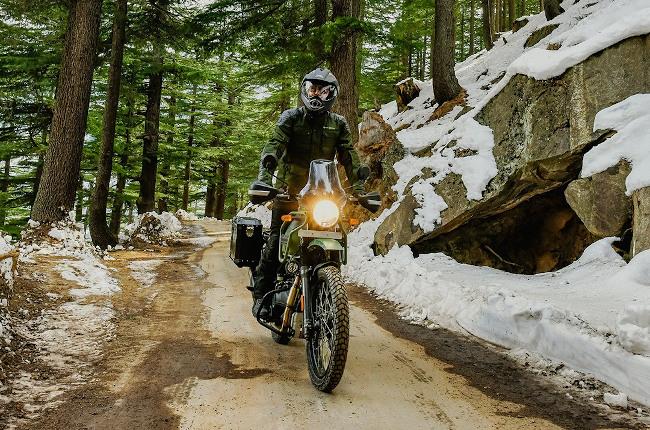 Royal Enfield Himalayan Off-road