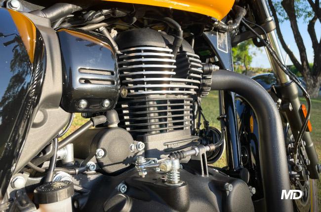 Royal Enfield Meteor 350 Engine