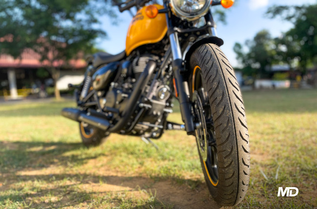 Royal Enfield Meteor 350 Front Tire