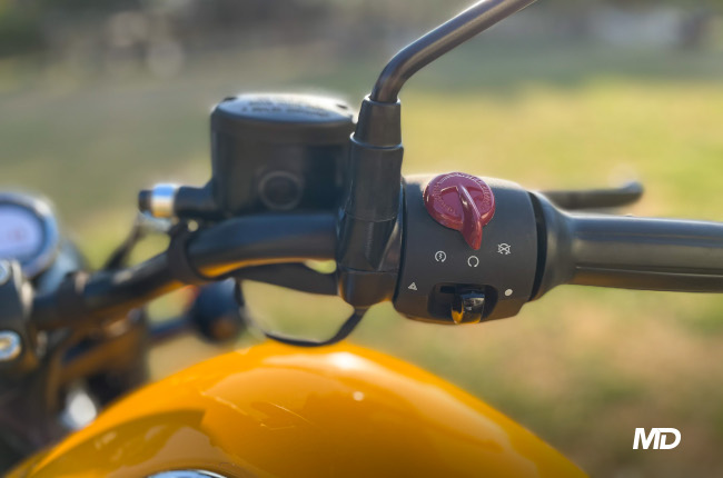 Royal Enfield Meteor 350 Right Switches
