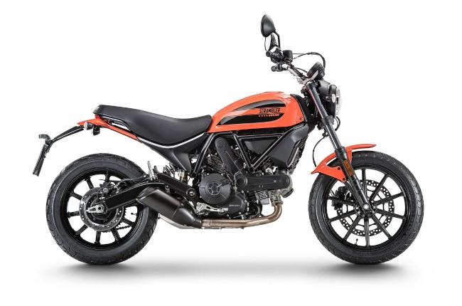 Scrambler Ducati Sixty2 product shot