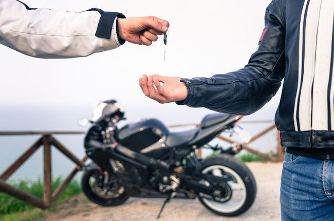 Second Hand Motorcycle Sale