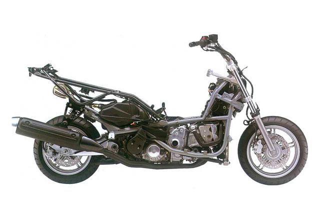 Suzuki Burgman 200 Frame