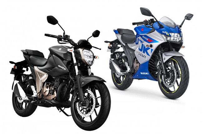 Suzuki Gixxer 250 and Gixxer 250SF