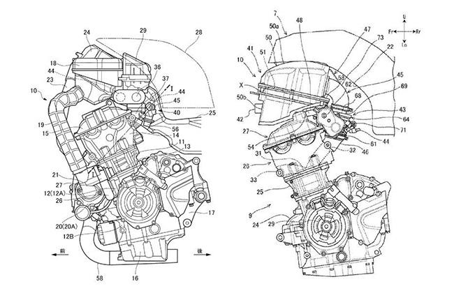 Suzuki SV650 Patent