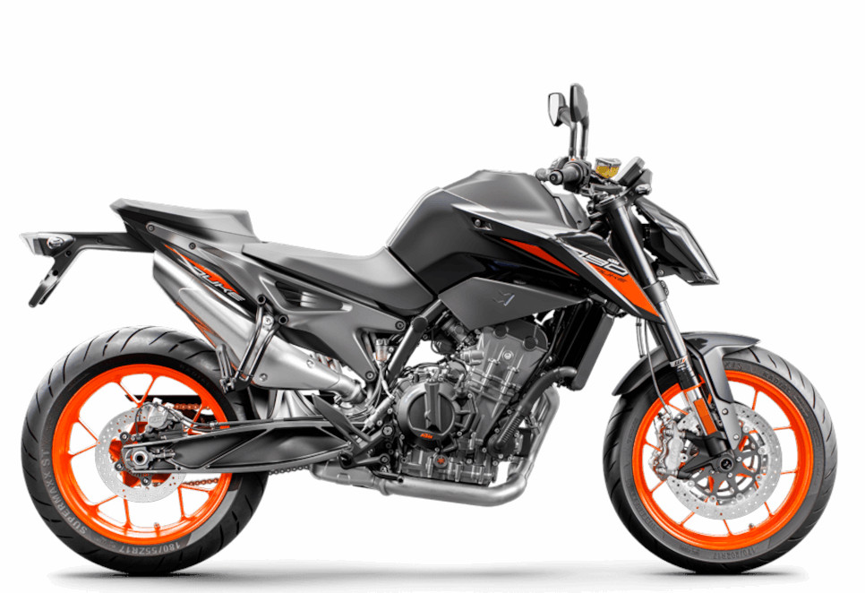 The KTM 790 Duke is a potent naked bike with lots of power and range-topping componentry.