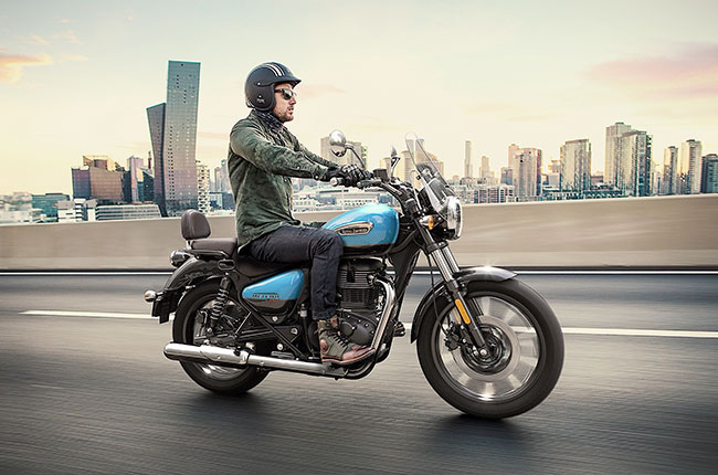 The Royal Enfield Meteor 350 is now in the Philippines