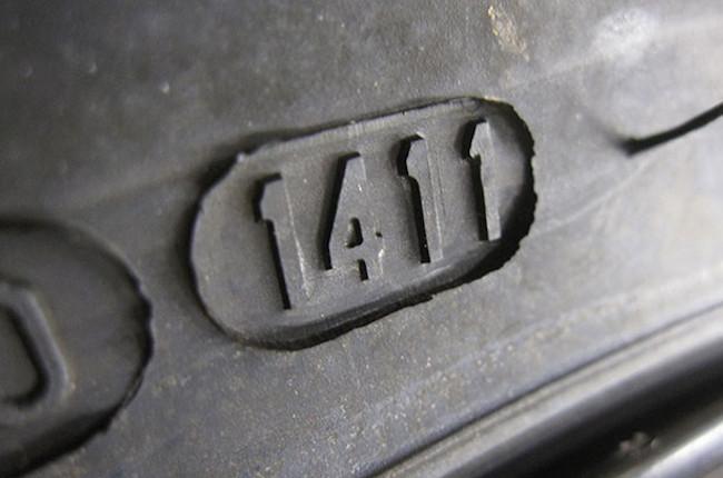 Tire manufacturer indication
