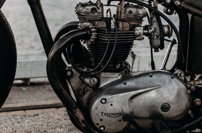 Triumph Single Cylinder Engine