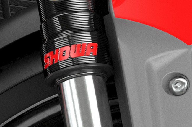 Triumph Trident 660 front inverted showa forks