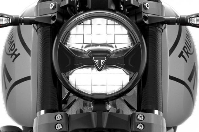 Triumph Trident LED headlight