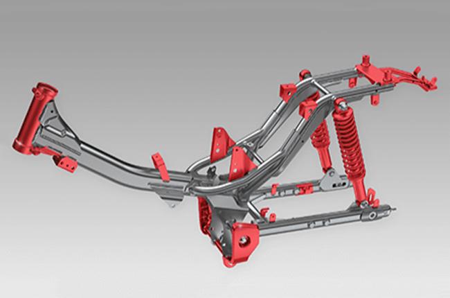 Underbone Frame