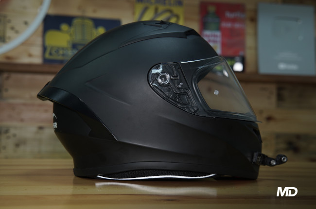Vemar Ghibli Helmet Side profile