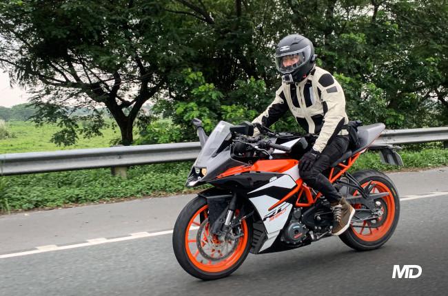 Vemar Ghibli KTM RC 390 Riding Philippines
