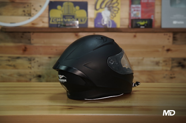 Vemar Ghibli Philippines Helmet Matte Black Rear quarter
