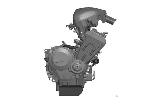 VSK 800 Inline-4 patent