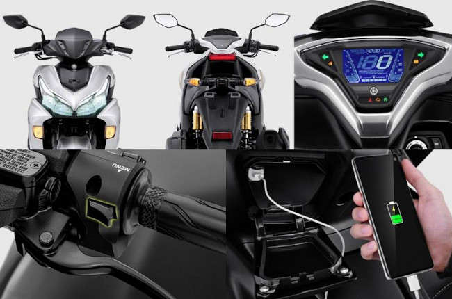 Yamaha Aerox Features