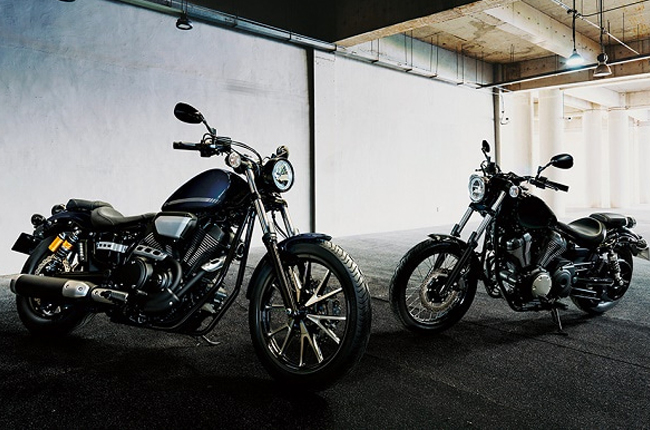 Yamaha Bolt R and Standard