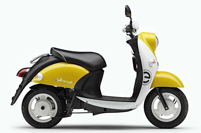 Yamaha e-Vino Japan Yellow side