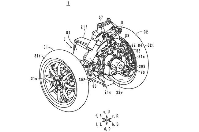 Yamaha LMW Patent