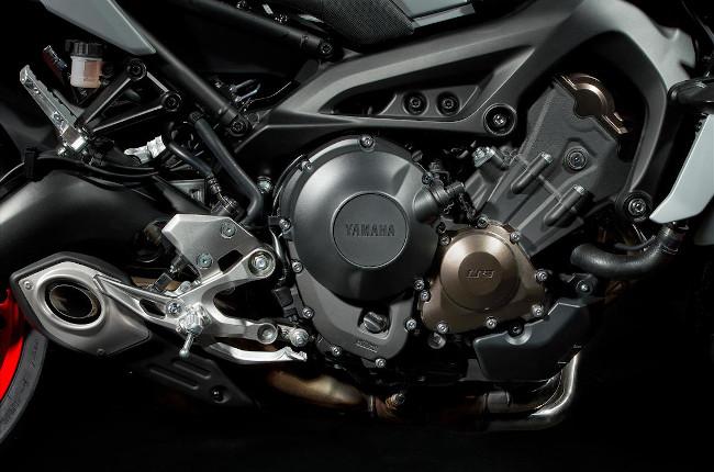 Yamaha MT-09 CP3 Engine