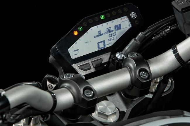 Yamaha MT-09 Display