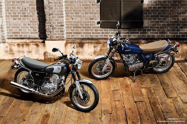 Yamaha SR400 Final Edition