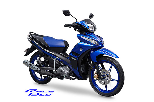 Yamaha Vega Force i 115 exterior blue