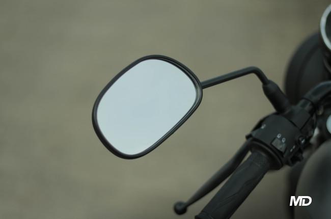 Yamaha XSR155 Philippines Side mirrors