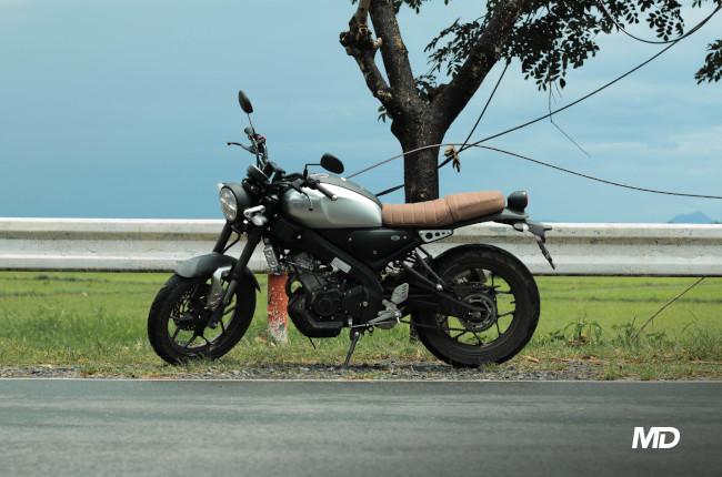 Yamaha XSR155 Philippines Side profile