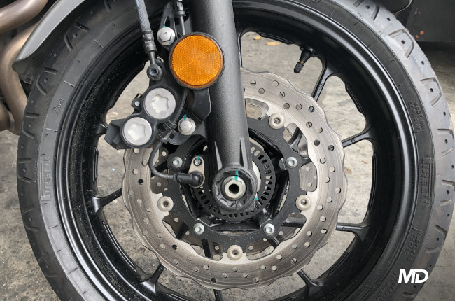 Yamaha XSR700 Front Brakes