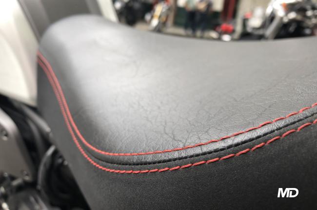 Yamaha XSR700 Seat Stitching