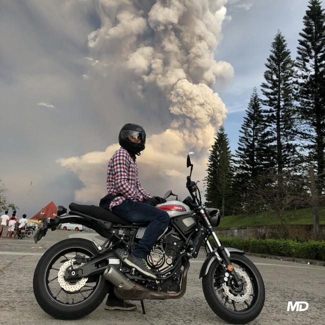 Yamaha XSR700 Taal Eruption