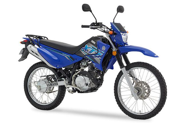 Yamaha XTZ 125 exterior