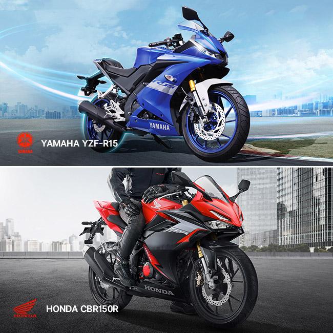 Yamaha YZF-R15 versus Honda CBR150R