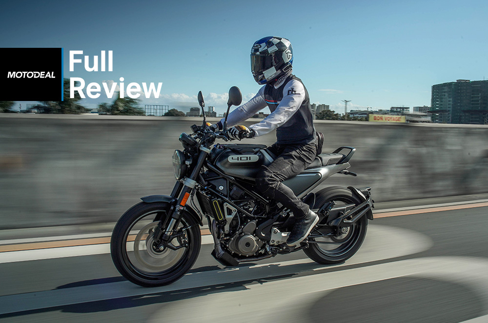 Husqvarna Svartpilen 401 Review